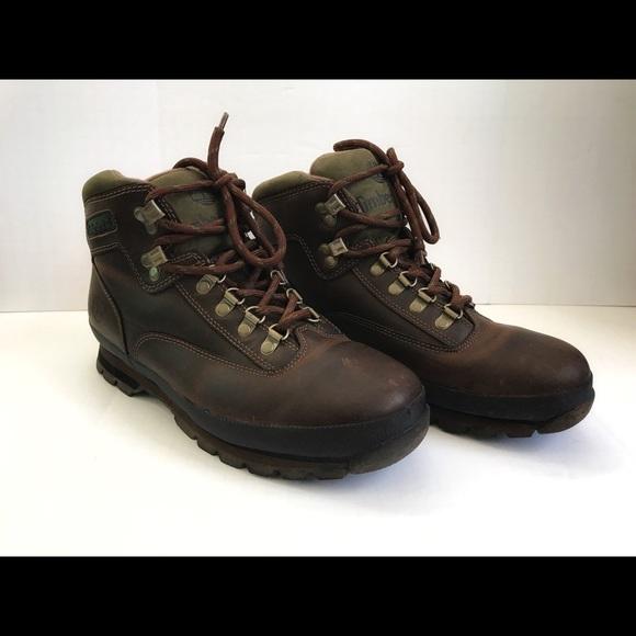 9da1352724c0 Timberland Euro Hiker 95100 Trail Boots Mens 9.5W.  M 5bc7ef692e14787a2e0a1430